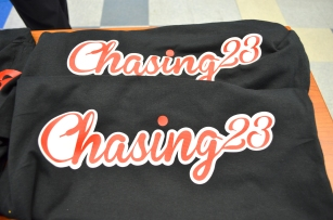 Chasing23 Pop Up Shop Phillips High School March 1 2017